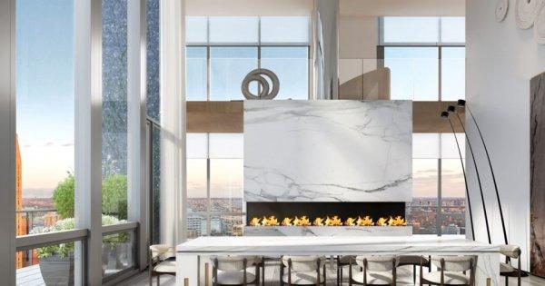 [Kiến thức Mua Bán] Khám phá căn penthouse 5 tầng đắt nhất New York năm 2021